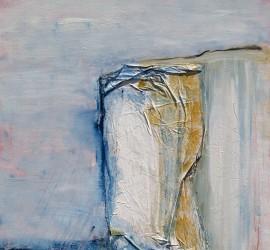 Klint II , 80 x 100, Malerei Stefanie Rogge
