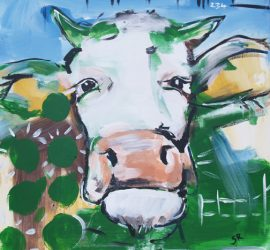 Serie Kühe codiert