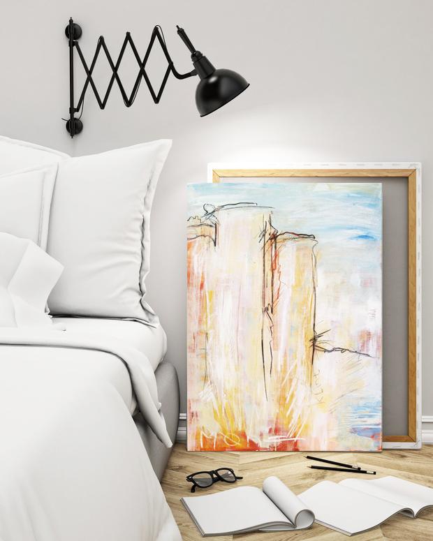 expressive Malerei auf Leinwand im Shop von Künstlerin Stefanie Rogge bestellen