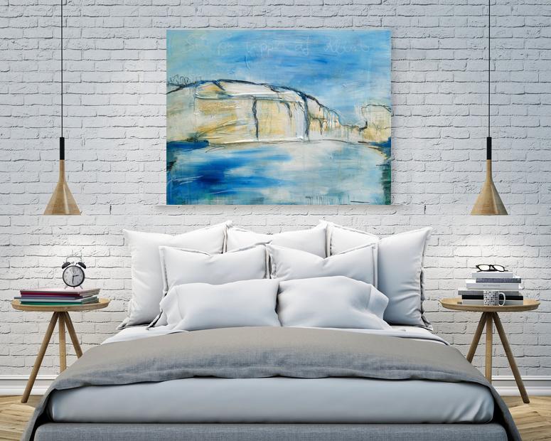 klint originalgem lde abstrakte bilder original gem lde malerei kunst online kaufen. Black Bedroom Furniture Sets. Home Design Ideas