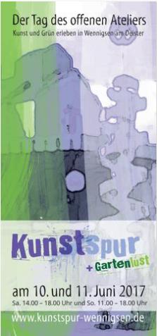 Kunstspur Wennigsen Broschüre online