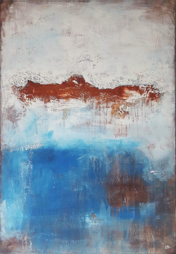 Fragment4 Full Abstrakte Bilder Original Gemälde Malerei Kunst