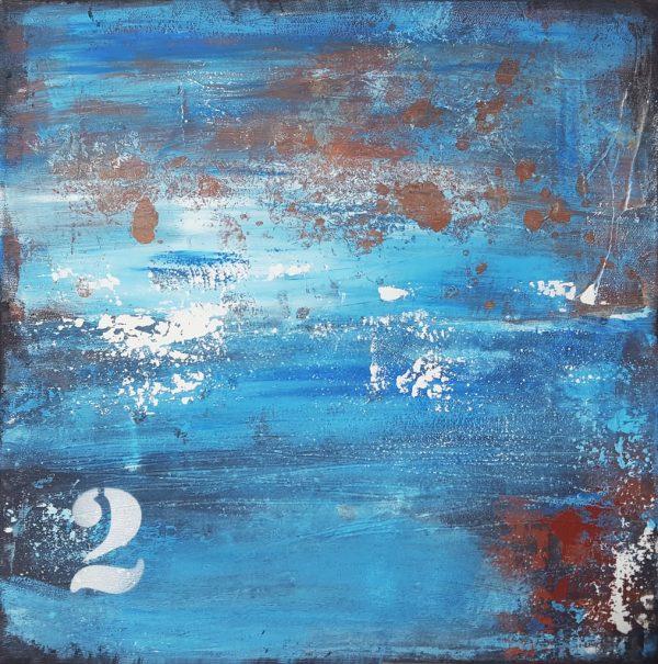 Abstrakte zeitgenössische Malerei