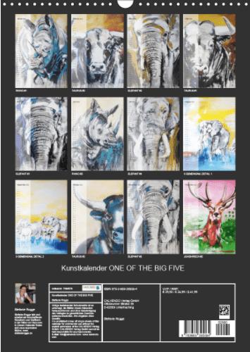 Überblick Kunstkalender 2018