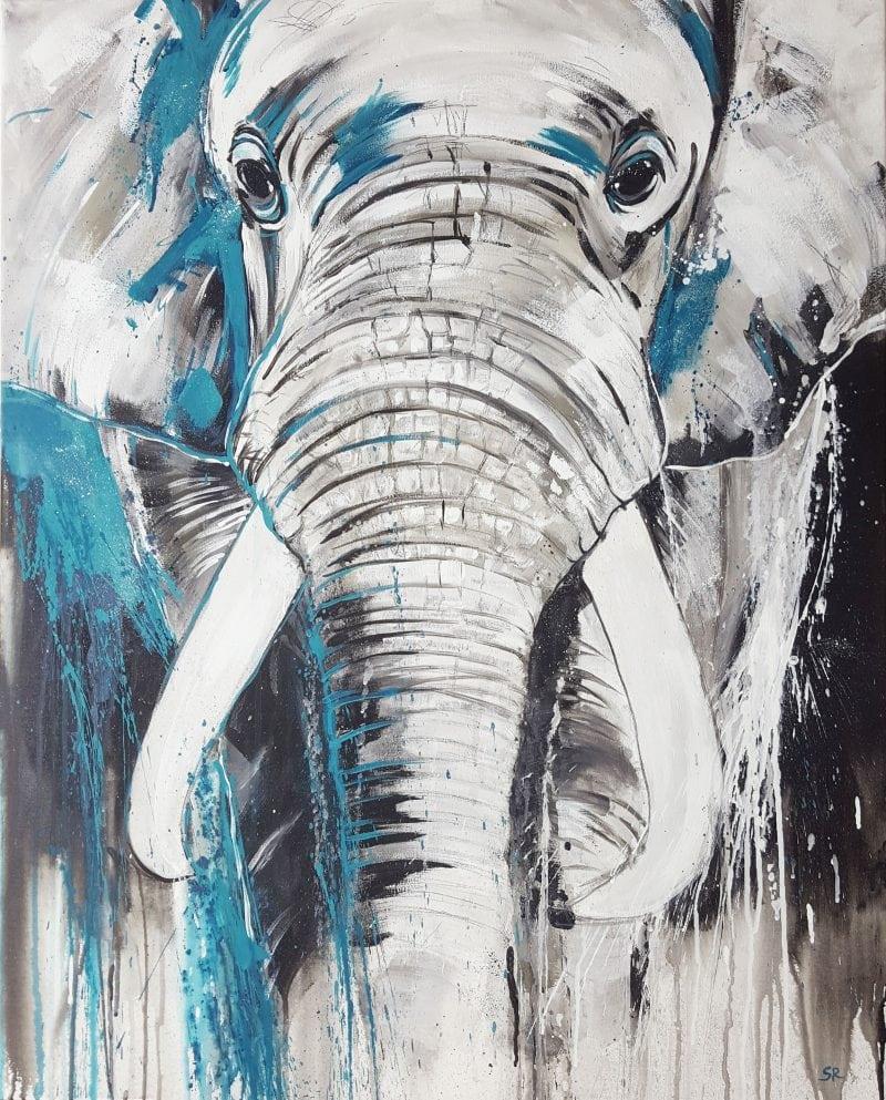 elefant Kunstdruck kaufen