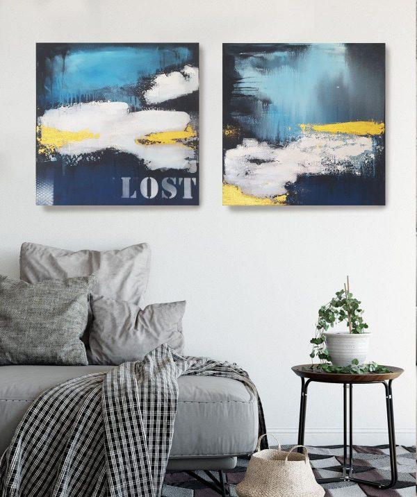 Abstraktes Bild kaufen, Künstlerin Stefanie Rogge