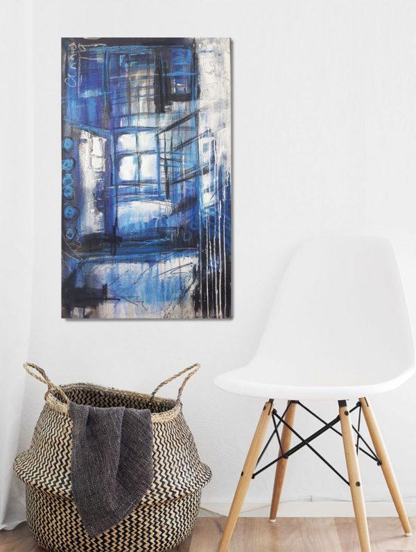Gemälde mit dem Thema alte Architektur, Gemälde von Stefanie Rogge, direkt im Kunst-Shop kaufen