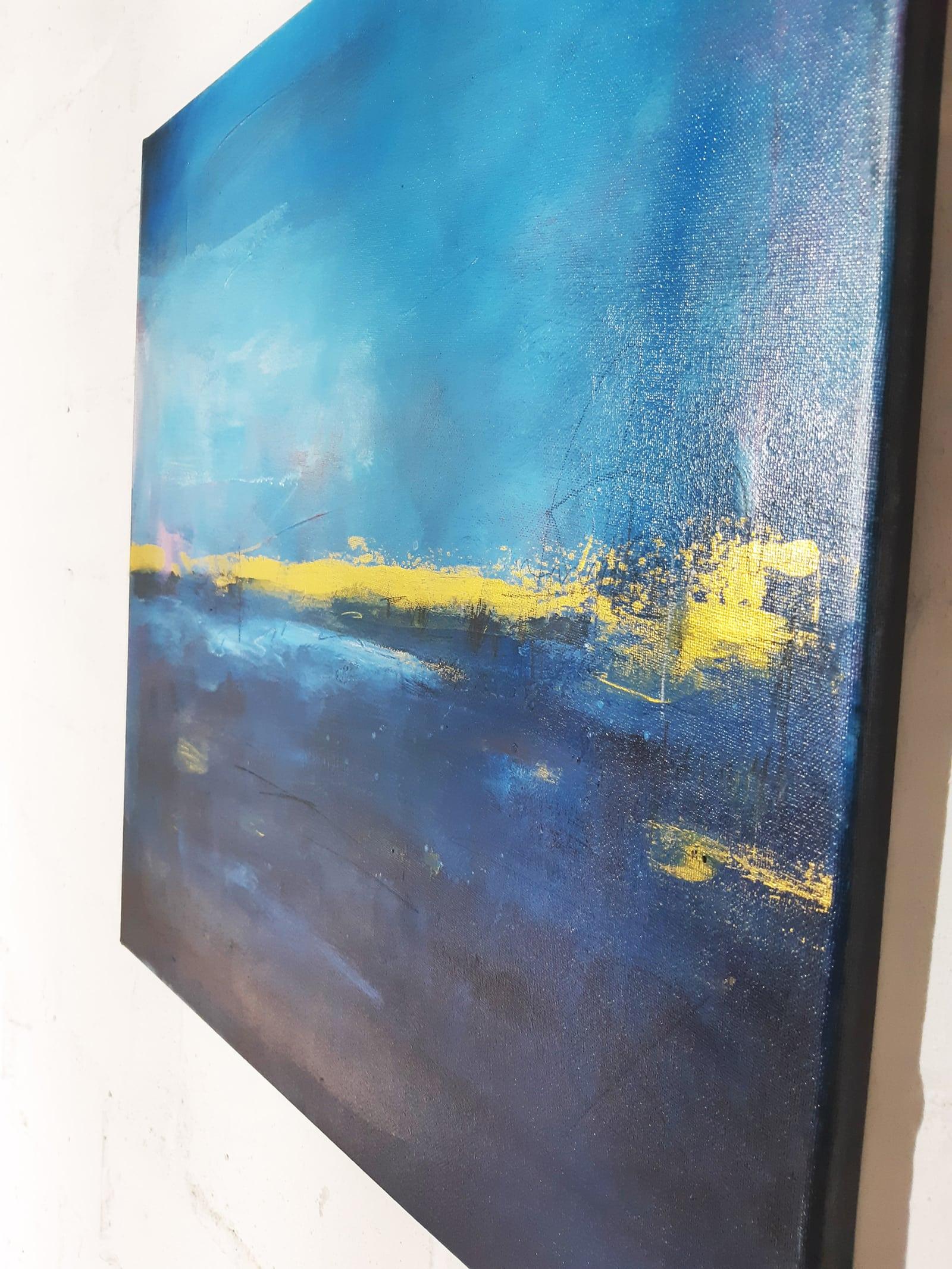 abstraktes maritimes Bild