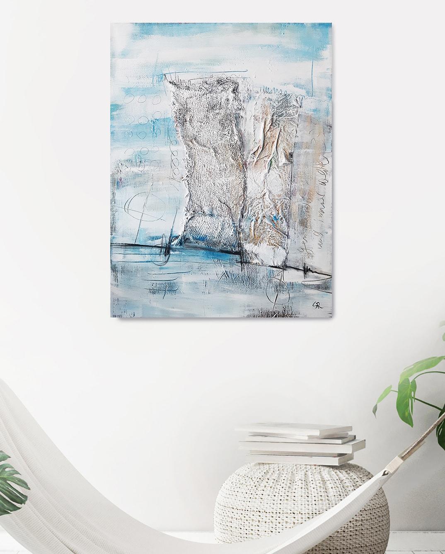 Strandgut   Impressionen der Küste   moderne Malerei von Stefanie Rogge