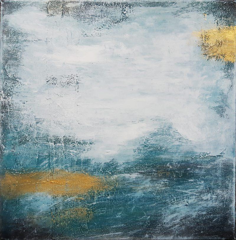 OZEAN FARBEN 2-Original abstrakte Kunst